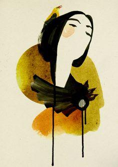Dolls by Ekaterina Koroleva, via Behance