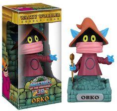 Masters of the Universe Wacky Wobbler Wackelkopf-Figur Orko 15 cm