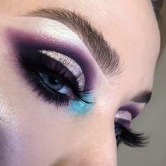 ipsy eyeshadow ~ ipsy eyeshadow tutorial _ ipsy eyeshadow _ tetris x ipsy eyeshadow _ ipsy nyx eyeshadow tutorial Nyx Eyeshadow, Bright Eyeshadow, Purple Eyeshadow, Eyeshadow Looks, Eyeshadow Palette, Eyeshadows, Makeup Fx, Artist Makeup, Dark Makeup