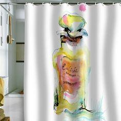 Marta Spendowska 'Perfume 1' Shower Curtain