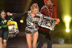 Fergie performs onstage at the 2014 American Music Awards on Nov. 23, 2014, in Los Angeles