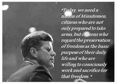 JFK... one of Dad's favorite presidents.