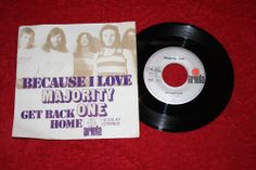 "MAJORITY ONE - Because I Love + Get back Home - Vinyl 7"" Single - Ariola"