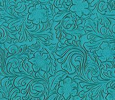 Vinyl Fabric Laredo TURQUOISE Fake Leather Upholstery / 5... Https://