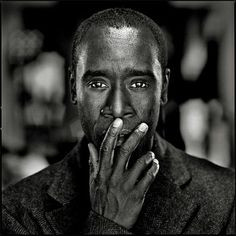 Olaf Heine · Don Cheadle 2 · anfragen Check availability Photo Portrait, Portrait Photography, Photography Ideas, Black And White Portraits, Black And White Photography, Photos Voyages, Celebrity Portraits, Male Portraits, People Photography