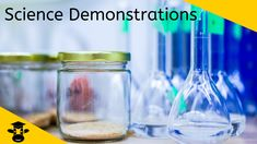 Check out the Top 10 Science Demonstrations found on Youtube. You can use these demonstrations at home or in your classroom.