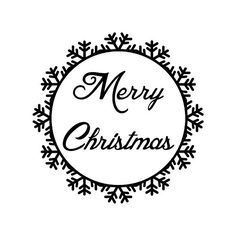 MERRY CHRISTMAS STAMP  Christmas Stamp Card Stamp by DoodleStamp, £10.00