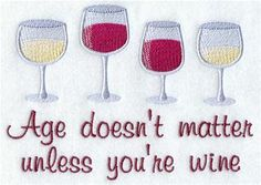 Machine Embroidery Designs at Embroidery Library! - Wine, Beer, & Cocktails