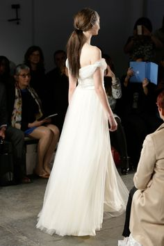 Jenny Packham 2015 Bridal Collection - Hepburn Wedding Dress (Back)