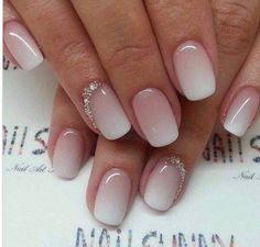 Braut nägel bilder Bride nails pictures Related posts: The girls, I put you some pictures of gel nails for the day j. ca p … 29 great and sweet summer nails design ideas and pictures for the year 2019 Be … 30 Ombre Nails Designs für Inspiration! Cute Nails, Pretty Nails, Elegant Bridal Nails, Elegant Makeup, Elegant Nails, Classy Nails, Bridal Nails French, Hair And Nails, My Nails