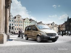 Rent a Mercedes Vito with Centauro rent a car