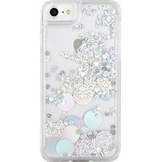 SKINNYDIP Holo Circle iPhone 6 plus case ($18) ❤ liked on Polyvore featuring accessories and tech accessories