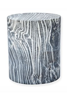 Kelly MArble Furniture Marble Cylinder Stool