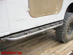 Jeep Rock Sliders - White Knuckle Off Road Products Cj Jeep, Jeep Cj7, Jeep Wrangler Tj, Patrol Y61, Tube Chassis, Rock Sliders, Jeep Stuff, Metal Projects, Jeep Life