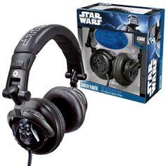 Darth Vader DJ Stereo Headphones $49.99
