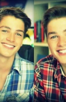 Finn and Jack Harries. Um, WHY am I just now finding out about these ATTRACTIVE BRITISH TWINS.