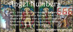 Numerology: Angel Number 666 | #numerology #angelnumbers