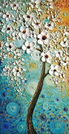 textura pintura - paula santos - Álbuns da web do Picasa