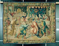 Gabael Attends the Wedding Feast of Tobias and Sara Medieval Manuscript, Tobias, Renaissance, Wedding, Painting, Art, Valentines Day Weddings, Art Background, Painting Art
