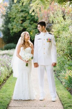 Annapolis Naval Academy Wedding from Natalie Franke Photography | Beautiful and Heartfelt Highlight film from Clickspark. | Read more - http://www.stylemepretty.com/2013/11/11/annapolis-naval-academy-wedding-from-natalie-franke-photography/