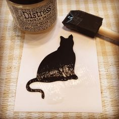 Sizzix Tutorial | Black Cat Treat Bag by Hilary Kanwischer
