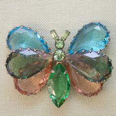 1970s Vintage Butterfly Brooch – Pied Nu