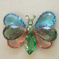 1970s Vintage Butterfly Brooch – Pied Nu