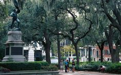 On the Waterfront If only every city planner had the foresight of Savannah's 18th-century founder, James Oglethorpe. His legacy—21 garden-filled public squares ringed by antebellum town houses—is a model of Southern grace.