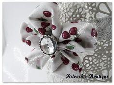 http://www.alittlemarket.com/boutique/retrochicboutique14  Headband / bandeau pour bebe/fillette Pour les petites et grandes occasions Robes coordonnées