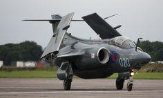 Blackburn Buccaneer | Blackburn Buccaneer XX894, Bruntingthorpe, Leicestershire Military Jets, Military Aircraft, Blackburn Buccaneer, Close Air Support, Navy Aircraft, Royal Air Force, Modern Warfare, Royal Navy, Fighter Jets