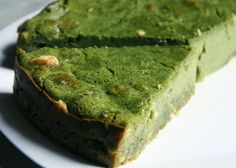 COOKING WITH JAPANESE GREEN TEA: Green Tea Cheese Cake