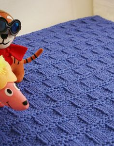 Free Knitting Pattern - Baby Blankets & Afghans: Sprout Baby Blanket