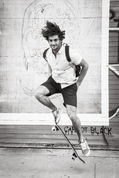 Male model Matt Giesler at Pier 62 photographed by Herman Eloff and Michelle Viljoen - Guys on Sidewalks