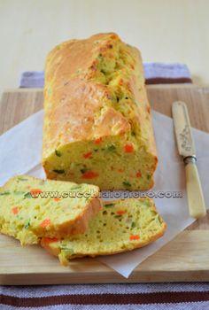 Pão salgado de legumes