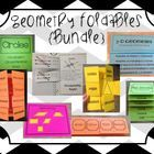 Geometry Foldables & Graphic Organizers (Perfect for Interactive Notebooks!!!)
