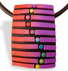 Polymer dots and dashes | Polymer Clay Daily