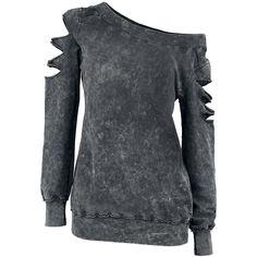"Outer Vision Sweatshirt, Mujer ""Custom"" Gris • EMP"