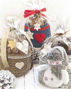 Cestas de crochet con cuerda, lana y trapillo foto 2