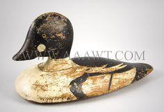 Antique Decoys, American, Hunting, Birds, Animals