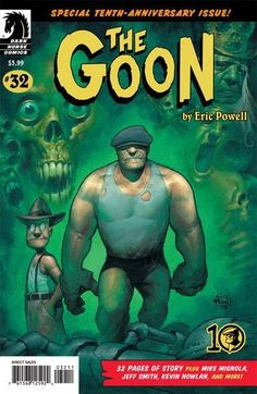 Cover for The Goon (Dark Horse, 2003 series) #32