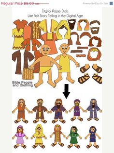 Download and Print Bible Story Clip Art: Bible Clip Art Over 70 Images for Bible Crafts, Digital Scrapbooking, Sunday School, Sabbath School,
