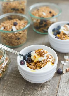 Simple Sundays | Blueberry Maple Granola
