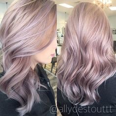 """Some rose gold/lavender goodness"