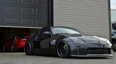 blacked out 350 Z