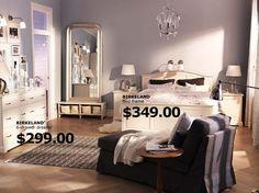 Sempre que me lembro dou uma espiadinha no site da Ikea, loja de coisas de casa que tem nos USA (e em um monte de países lá pros lados de cima). Os preços são ótimos e tem cada coisa linda… Bem que poderia entregar aqui né? Separei algumas fotos de quartos para vocês verem. Em …