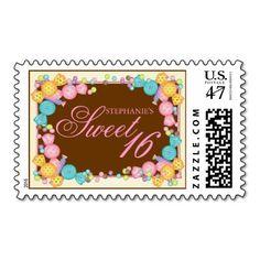 Very Sweet Candy Themed Sweet Sixteen Birthday
