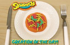 Skwooshi Creation of the Day #pizza #foodart #mold #sculpture #sculpt #play #toys #food #skwooshi  Join the fun on Facebook for exclusive giveaways https://www.facebook.com/Skwooshi