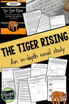 The Tiger Rising is a staple mentor text in many elementary classrooms--but I just was NOT feeling it! Check out this blog post to see why I changed my mind about using this powerful little novel with MY class! #thetigerrising #tigerrising #readaloud #fourthgrade #thetigerrisingquestions #thetigerrisingworksheets #thetigerrisingreadaloud Book Club Books, The Book, My Books, Teaching Narrative Writing, Genre Study, Realistic Fiction, Fourth Grade Math, Literature Circles, Mentor Texts