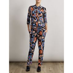 Buy Somerset by Alice Temperley Printed Trousers, Multi from our Women's Trousers & Leggings range at John Lewis & Partners. Slim Fit Trousers, Printed Trousers, Trousers Women, Ss15 Fashion, Somerset By Alice Temperley, Ss 15, Red Poppies, John Lewis, Drawstring Waist