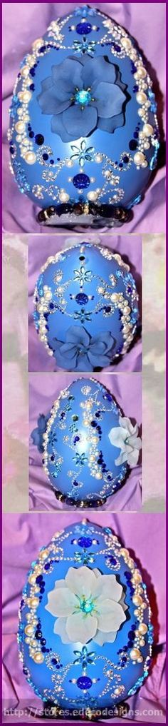 When you cannot afford Faberge eggs, make your own Easter eggs!